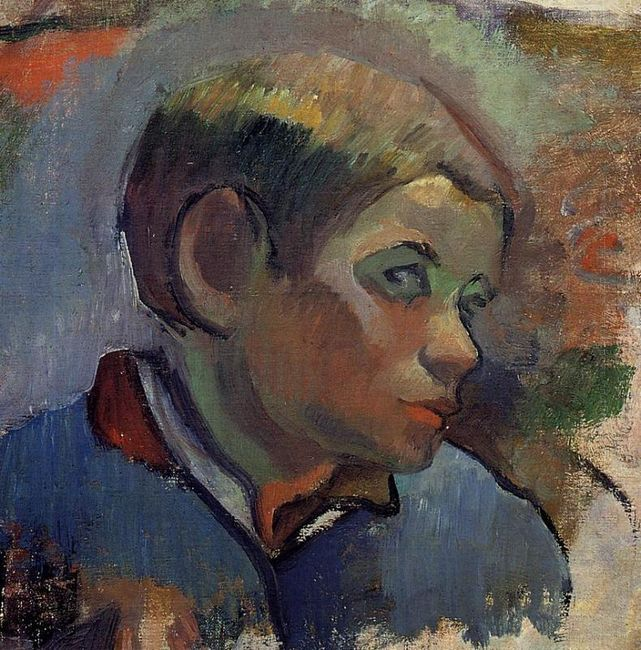 portrait of a little boy 1888