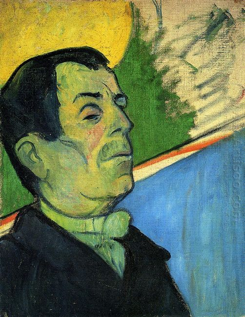 portrait of a man wearing a lavalliere 1888