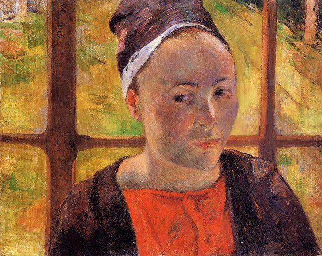 portrait of a woman marie lagadu 1888