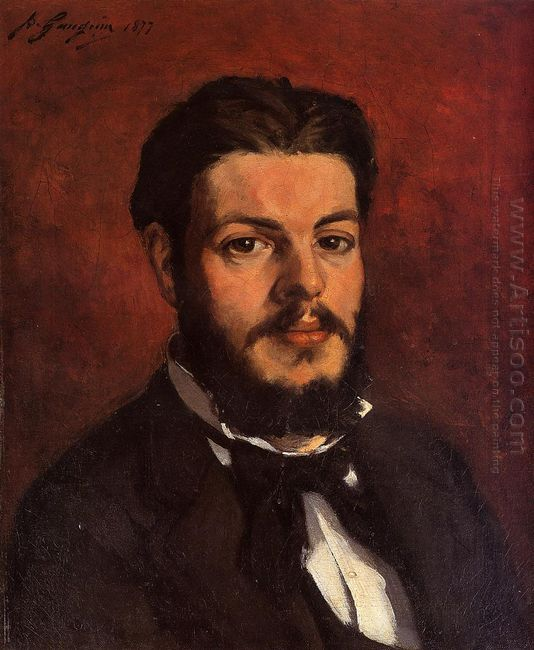 portrait of claude antoine charles favre 1877