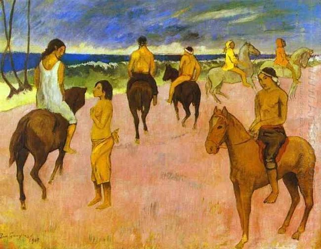 riders on the beach ii 1902