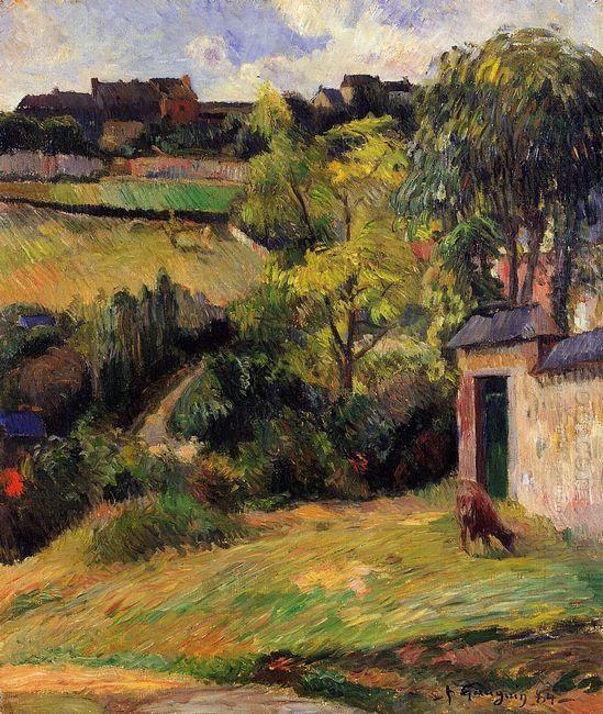 rouen suburb 1884
