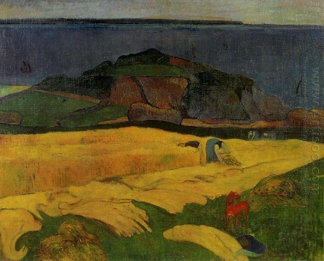 seaside harvest 1890