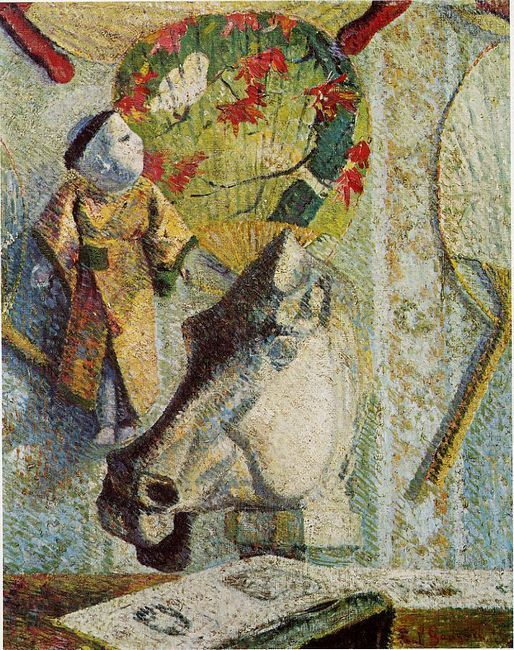still life with horse s head 1886