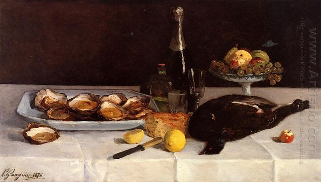 still life with oysters 1876