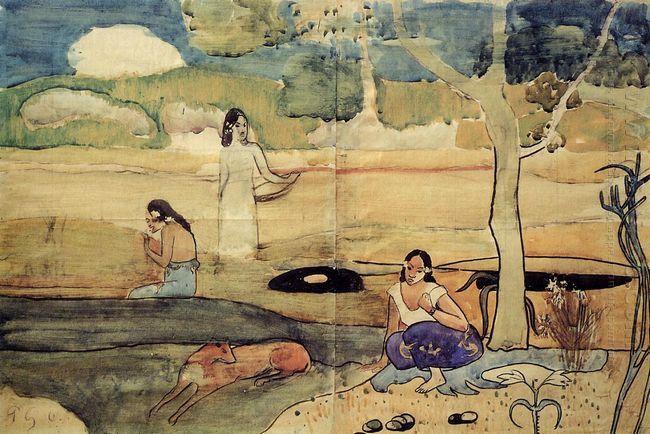 tahitian scene