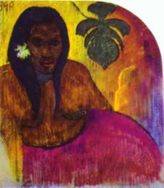 tahitian woman 1899
