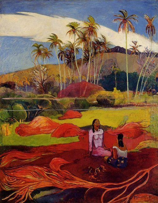 tahitian women under the palms 1892