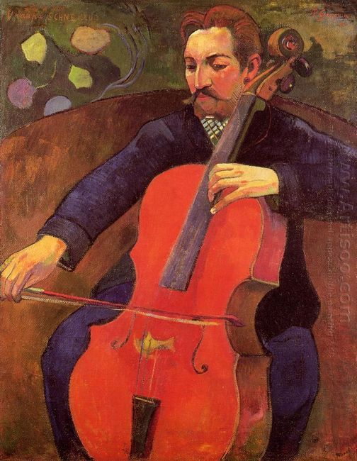 the cellist portrait of upaupa scheklud 1894