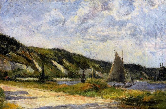 the cliffs of le bouille 1884
