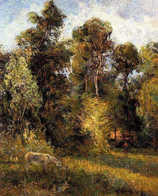 the forest edge 1885