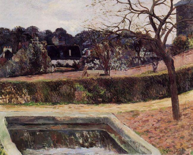 the square pond 1884