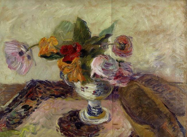 vase of flowers 1886