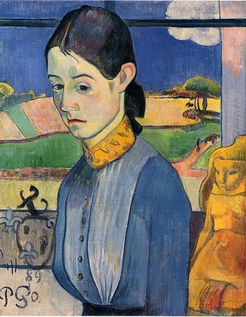 young breton woman 1889