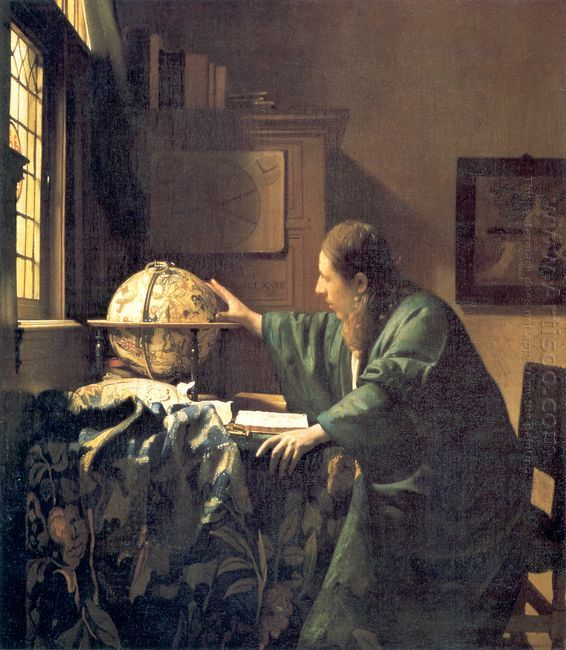 the astronomer 1668