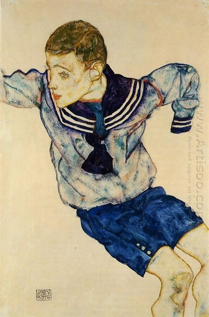 boy in a sailor suit 1913