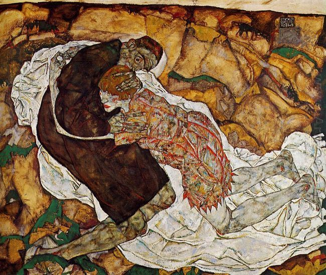 death and the maiden 1915