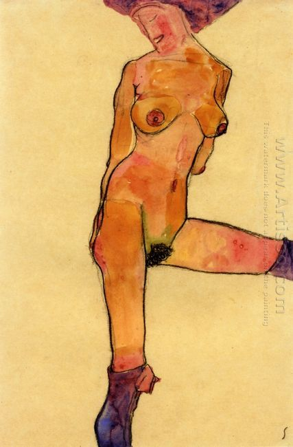 female nude 1910