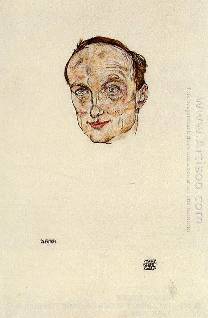 head of dr fritsch 1917