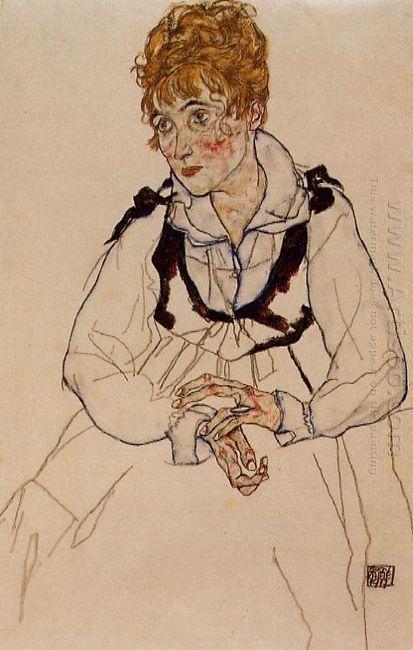 madame schiele 1917