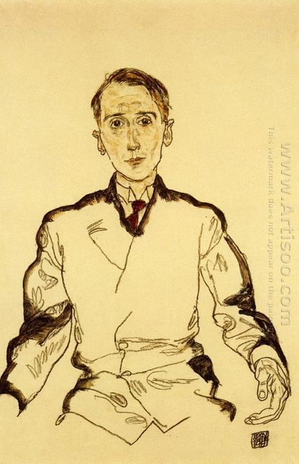 portrait of heinrich rieger 1917