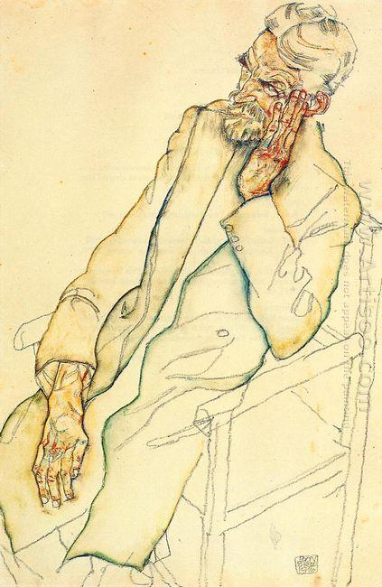 portrait of johann harms 1916