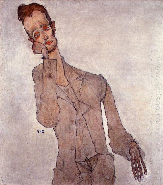 portrait of karl zakovsek 1910