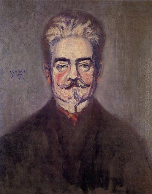 portrait of leopold czihaczek 1907
