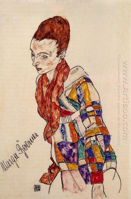 portrait of marga boerner 1917