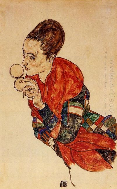 portrait of the actress marga boerner 1917
