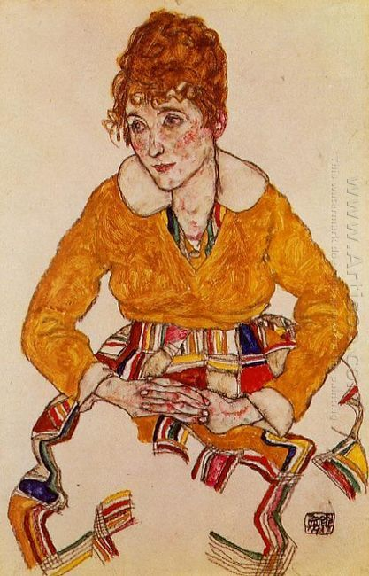 portrait of the artist s wife 1917