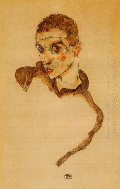 self portrait 1914