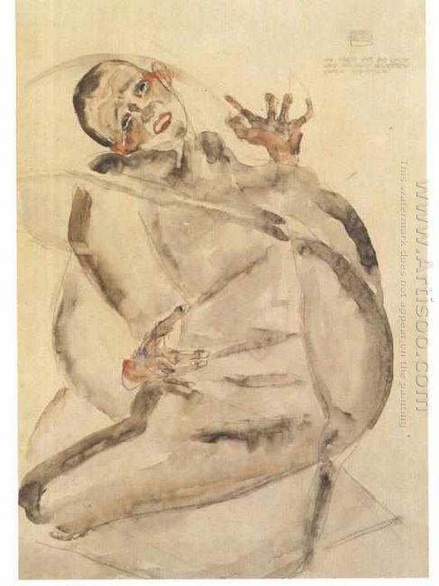 self portrait as prisoner 1912