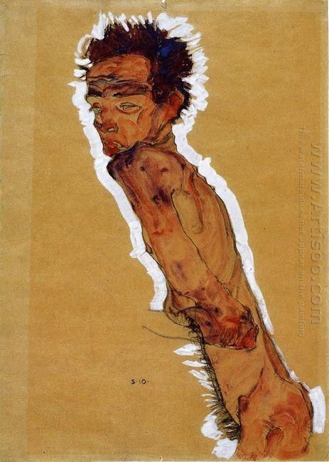 self portrait nude 1910
