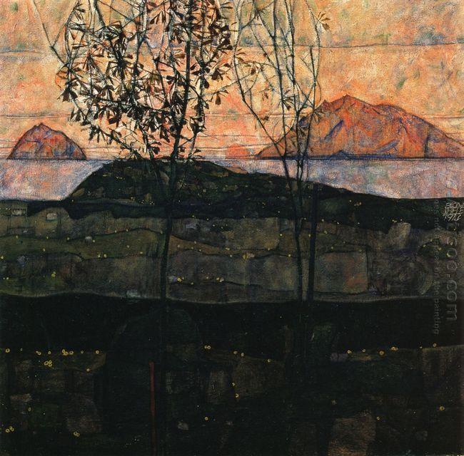 setting sun 1913