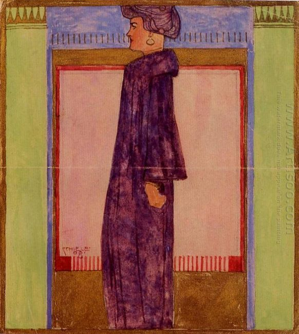 standing woman 1908