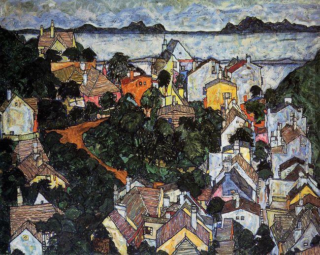 summer landscape krumau 1917
