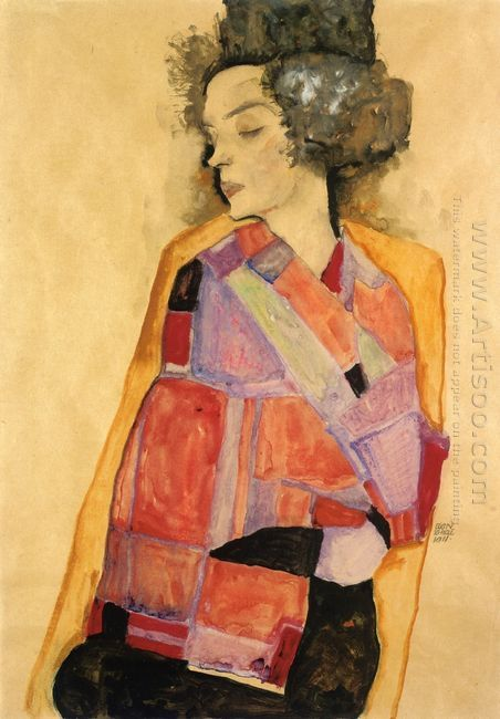 the daydreamer gerti schiele 1911
