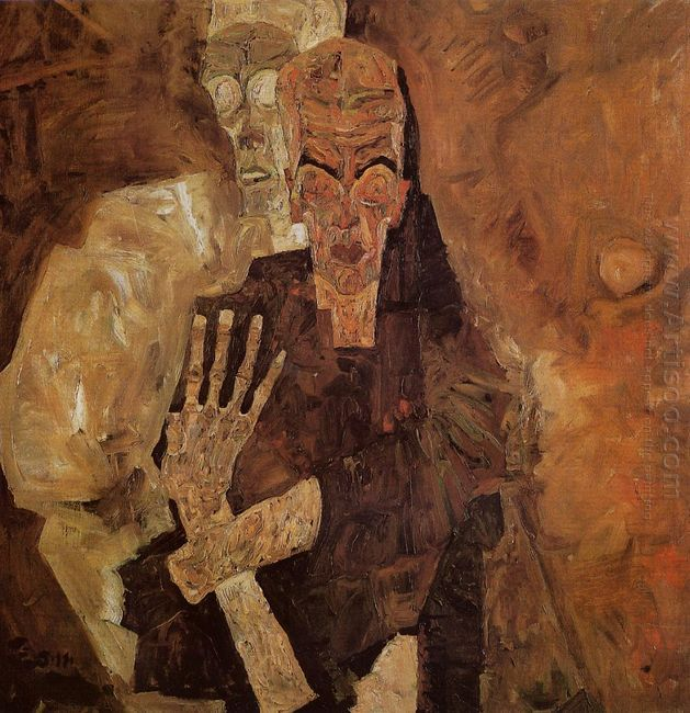 the self seers death and man 1911