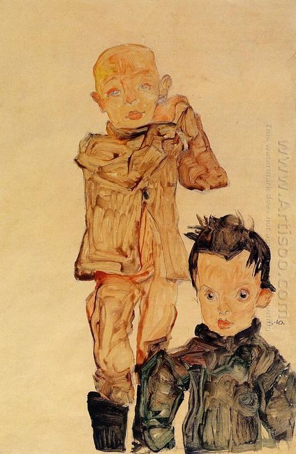 two boys 1910