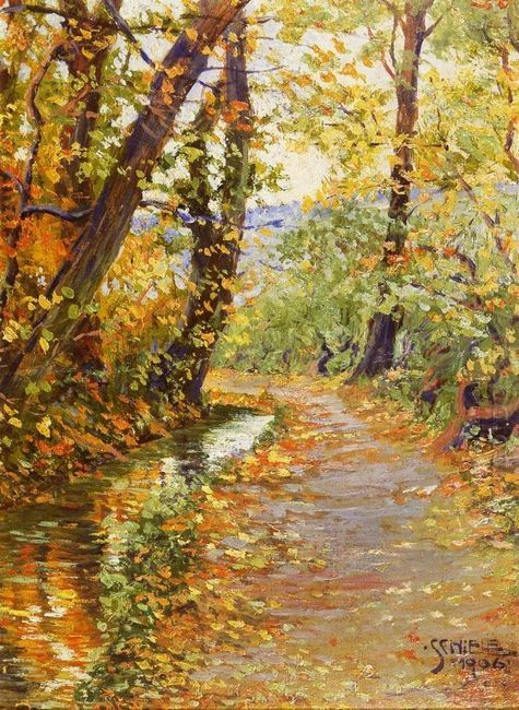 winding brook 1906