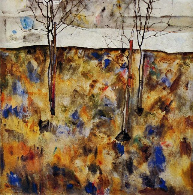 winter trees 1912