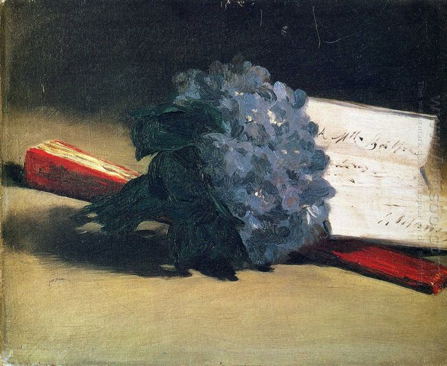 bouquet of violets 1872