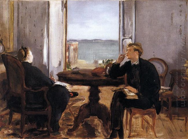 interior at arcachon 1871