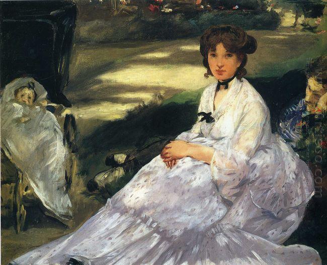 in the garden 1870