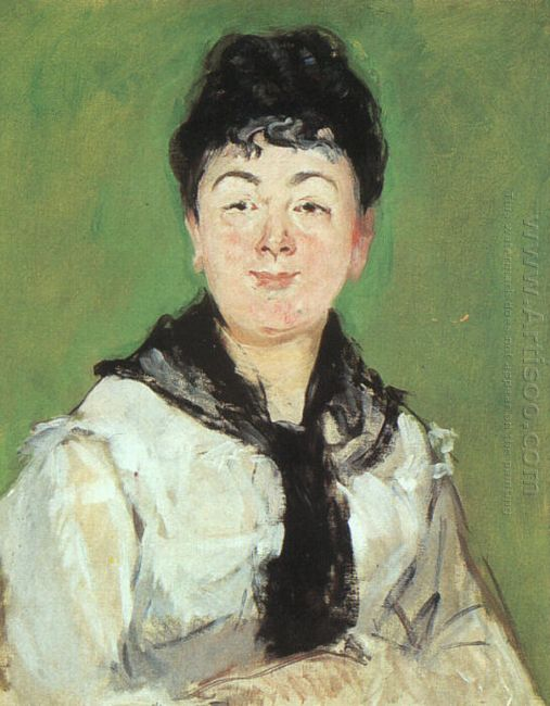 portrait of a lady with a black fichu 1878