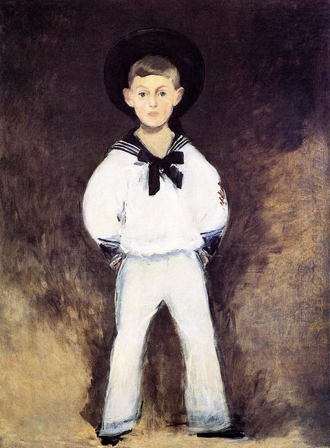 portrait of henry bernstein as a child 1881