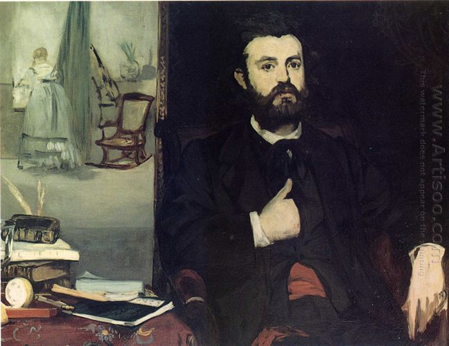portrait of zacharie astruc 1866