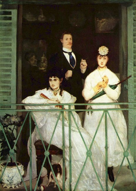 the balcony 1869