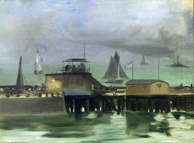 the jetty at boulogne 1869